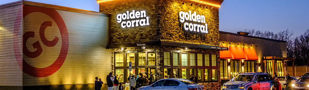 "golden corral market strategy Golden corral®, the nation's largest grill-buffet chain, is offering guests a premium experience at an affordable price with its ""premium weekends"" menu."