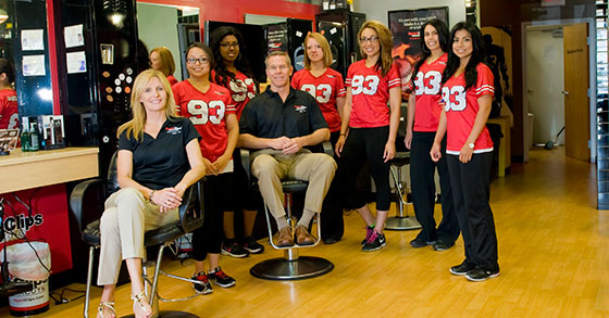 Second Time Around: Husband-and-Wife Team Join Forces as Sport Clips Franchisees