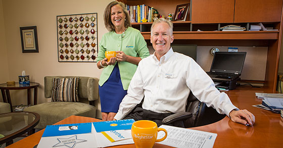 Caring Couple: Longtime BrightStar Care Franchisees Flourish