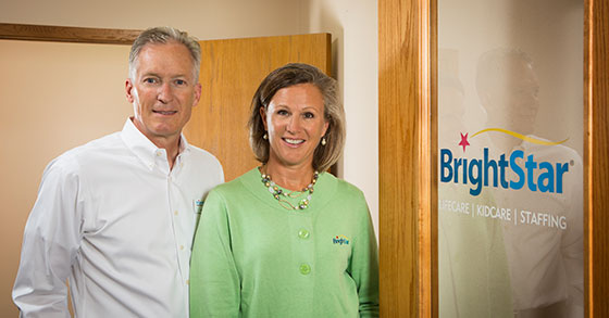 BrightStar Care Husband-and-Wife Make A Perfect Team