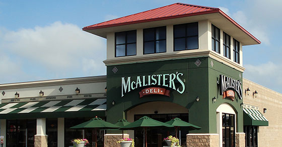 McAlister's Deli Grows Big In Southeast
