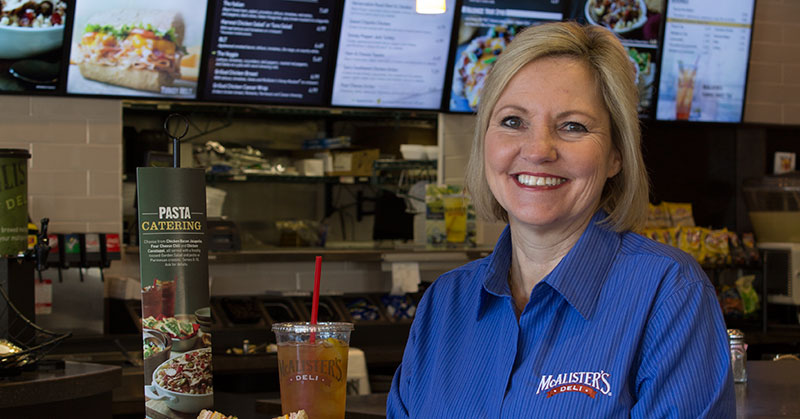 Learn at Every Turn: Carin Stutz, President of McAlister's Deli, is a Quick Study