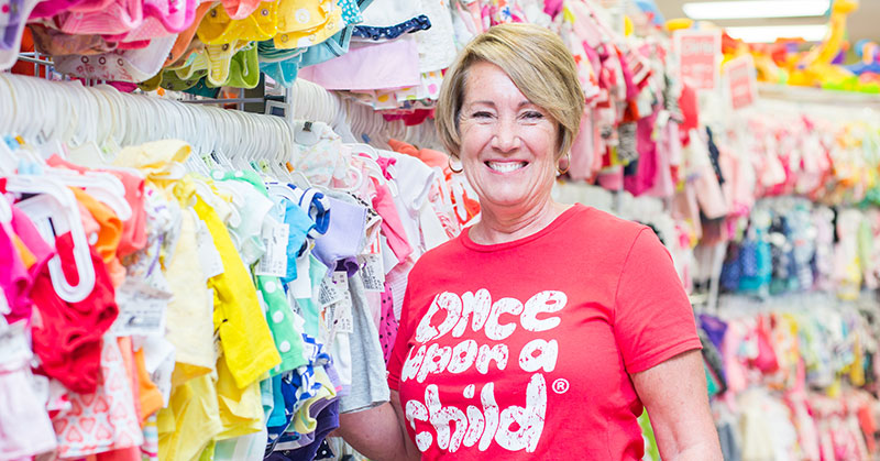 Mom Makes It Big In Clothing Resale Franchises