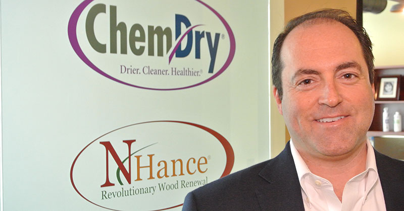 Cleaning Up: Dan Tarantin has Chem-Dry and N-Hance on the Fast Track