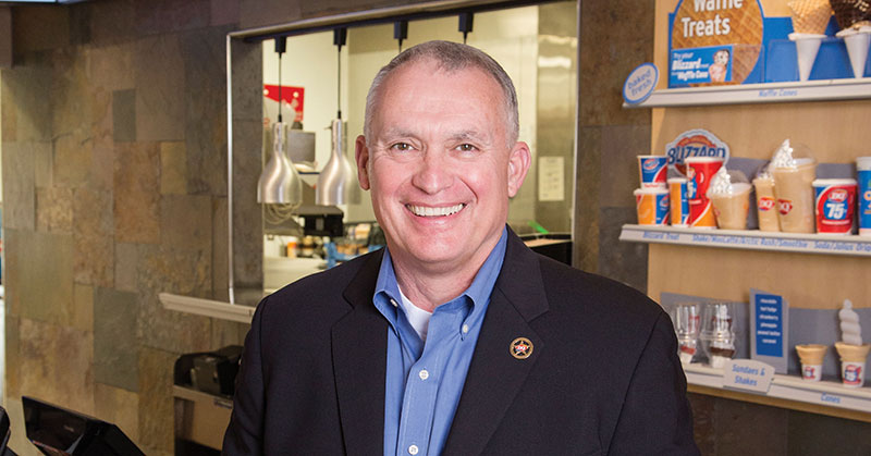 Texas Dairy Queen Franchisee Thinks Big