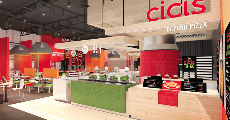 Beyond Pizza: Cicis Redefines its 30-year-old Brand
