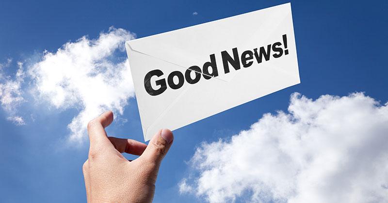 Good News! - August 2016