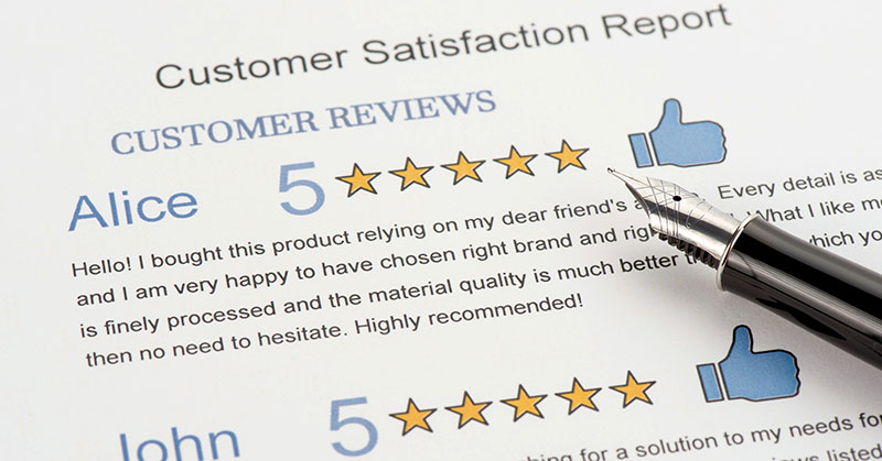 Got the Guts to Post All of Your Customer Reviews?