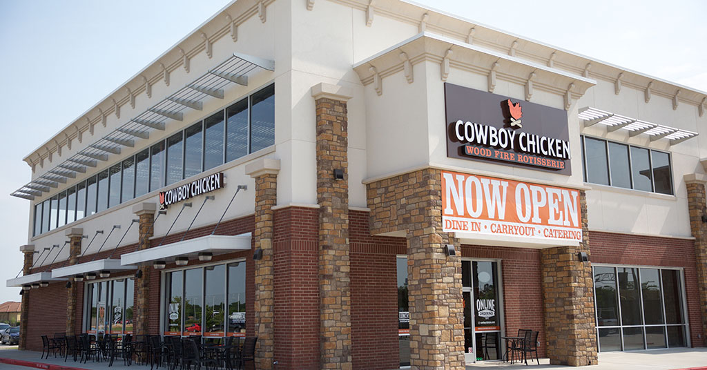 Cowboy Cool: Makeover Improves Both Front and Back of the House