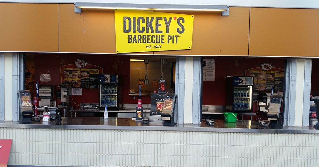 Dickey's Barbecue Pit Takes the Field