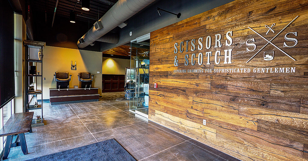 Scissors & Scotch Offers Grooming and Premium Cocktail