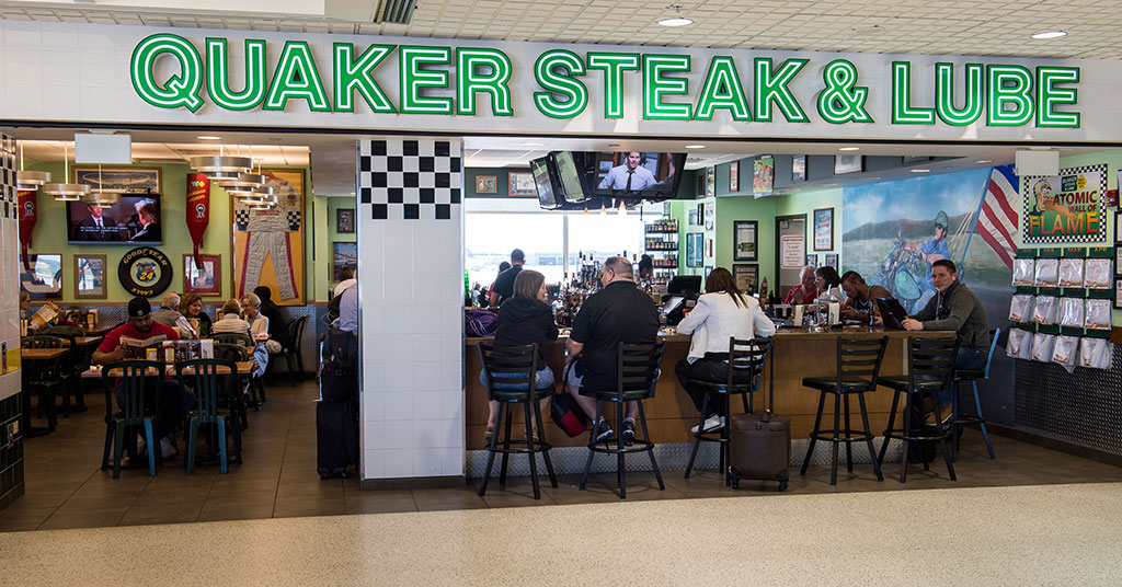 Quaker Steak & Lube Fueling Growth in Nontraditional Locations