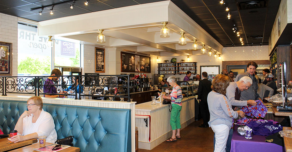 PJ's Coffee Brews Up Grand New Look with Remodel