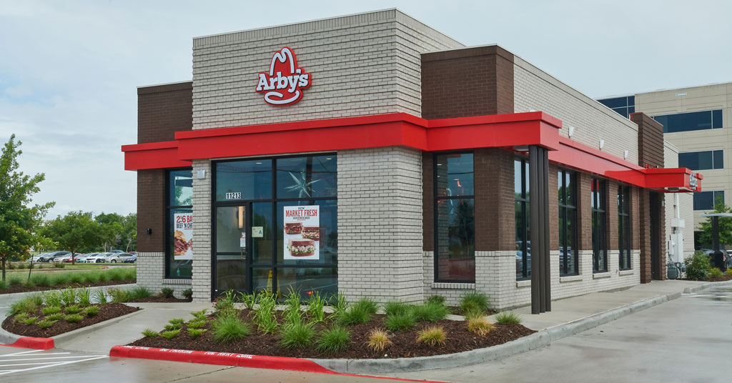 Arby's Reaches Milestone with New Restaurant Design