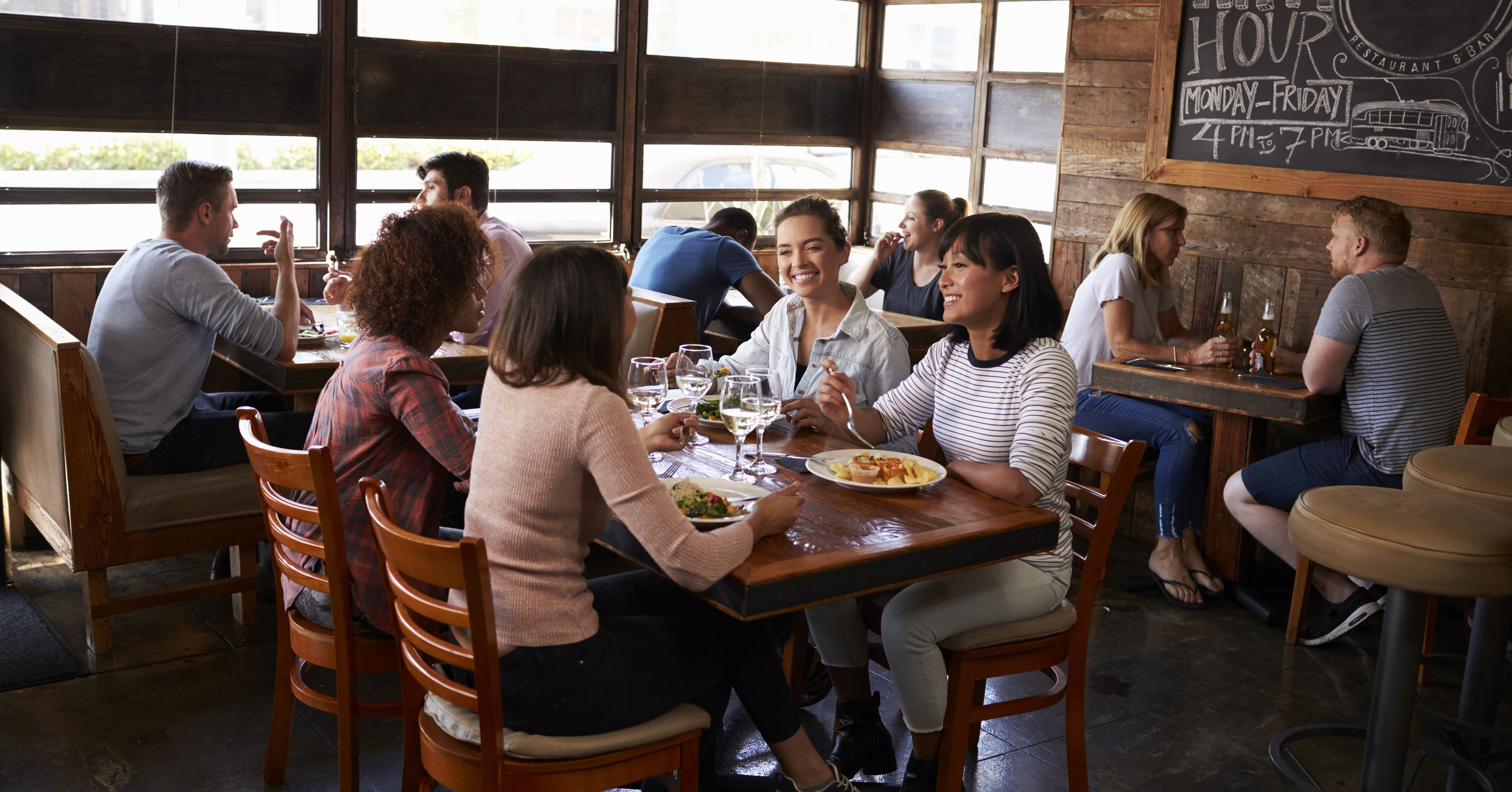 Report: Restaurant Sales Continue Slow, Steady Growth