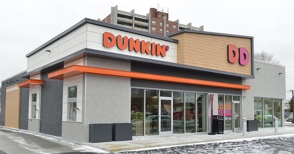 Dunkin' Donuts Rolling Out its Store of the Future Design and Technologies
