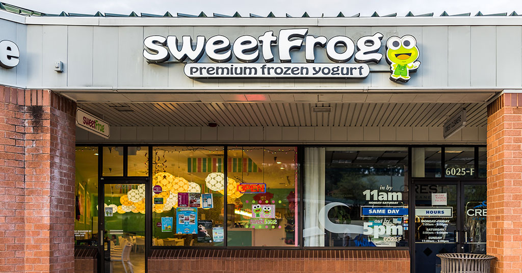 SweetFrog Snatched Up By Canadian Franchise Group