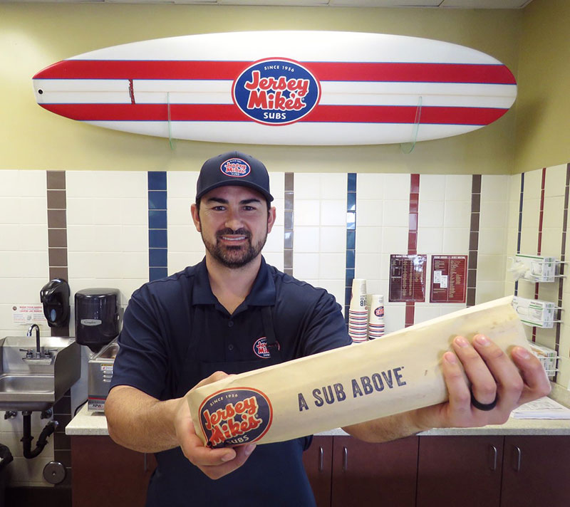 Adrian Gonzalez, Jersey Mikes Franchisee