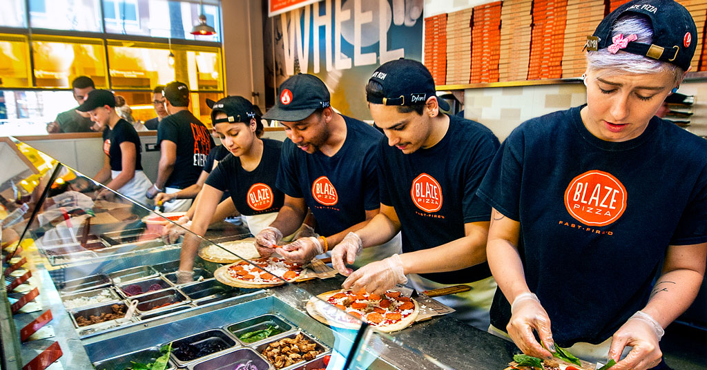 Blaze Pizza's Artisanal Pies Create Loyal Customers and Happy Franchisees