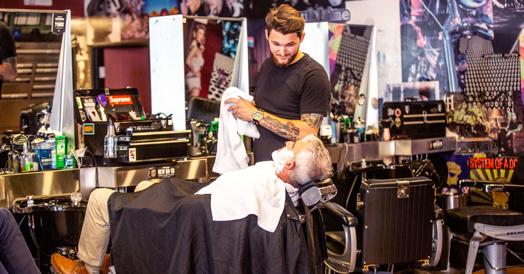 Floyd's 99 Barbershop Offers Affordable Style Any Way You Cut It