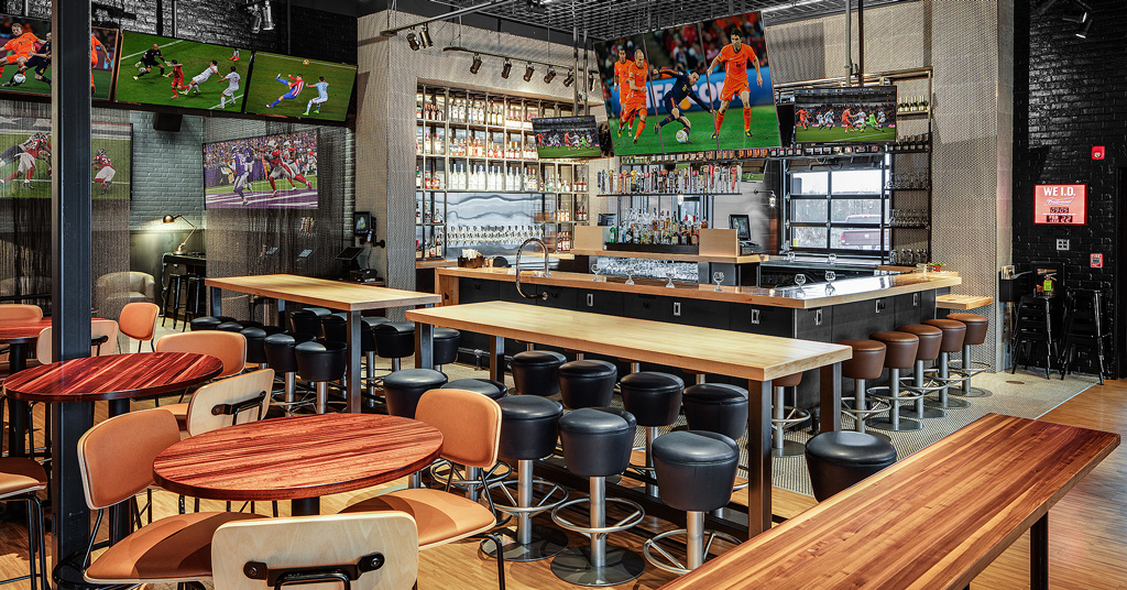 Buffalo Wild Wings Unveils Innovative New Restaurant Look