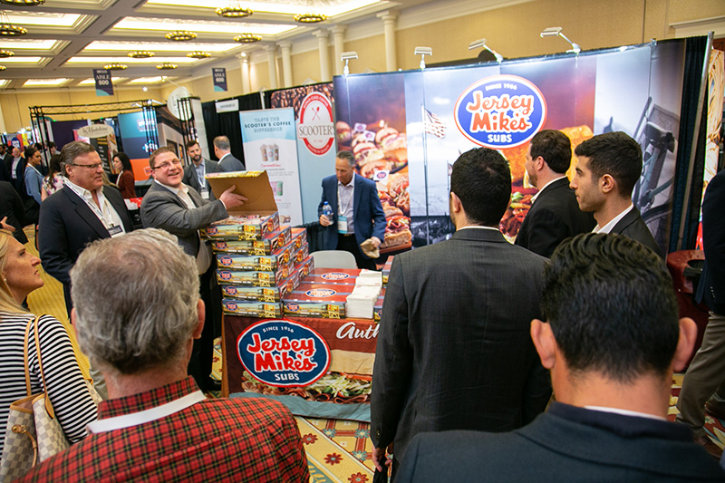 2019 Multi-Unit Franchising Conference Exhibit Hall floor