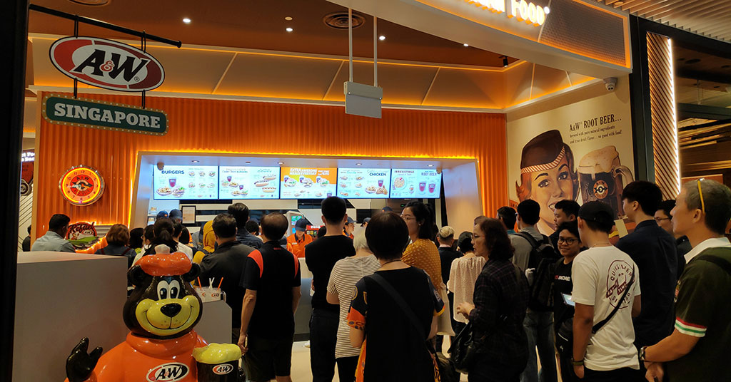 A&W Restaurants Returns to Singapore After 16 Years Away