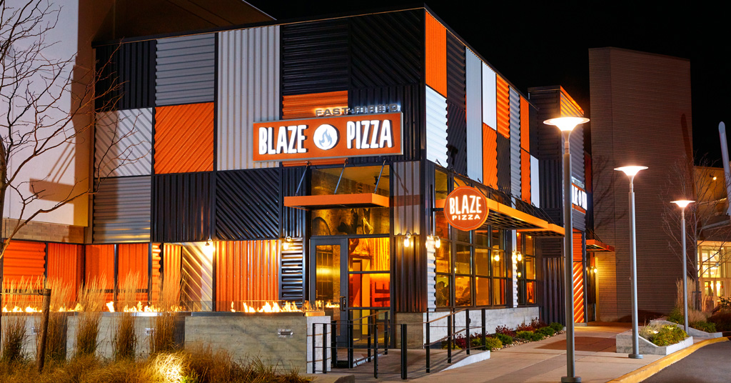 Blaze Pizza Is Designed For Success