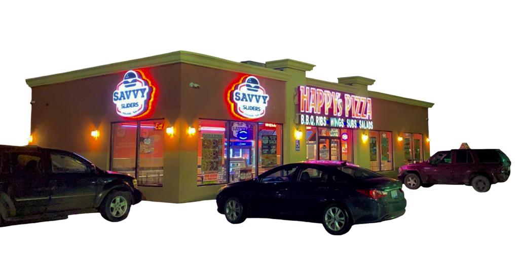 Happy's Pizza Delivers Co-Brand Franchise Opportunity with Savvy Sliders