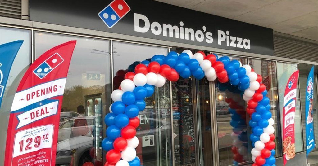 Domino's Opens Its First Store in the Czech Republic in Master Franchise Deal