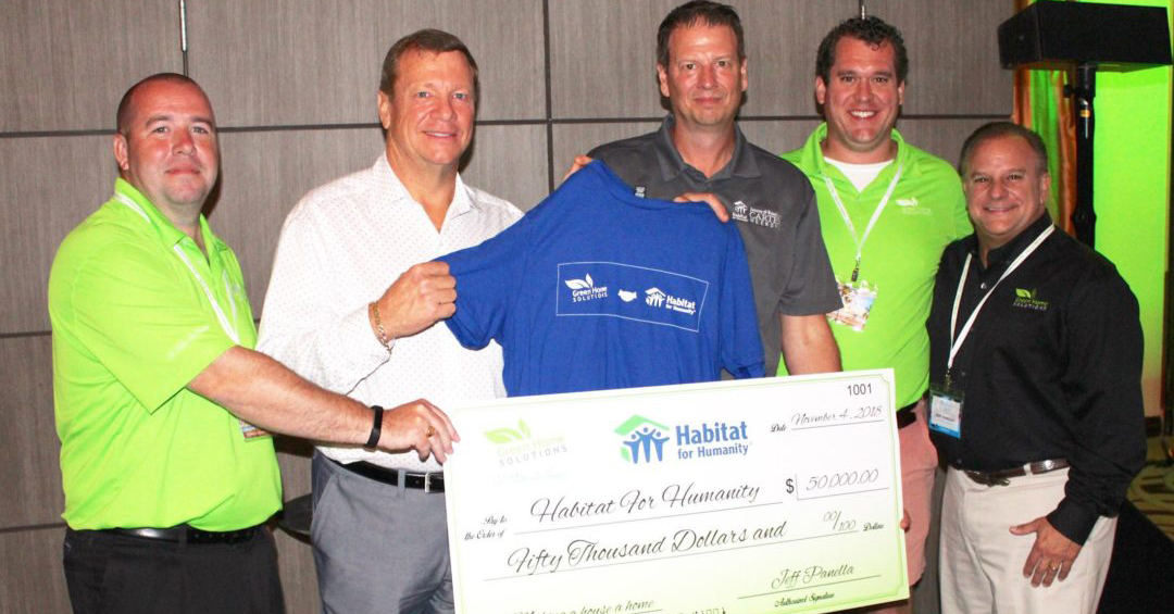 Eco-friendly franchise improves the air, and changes lives with Habitat for Humanity