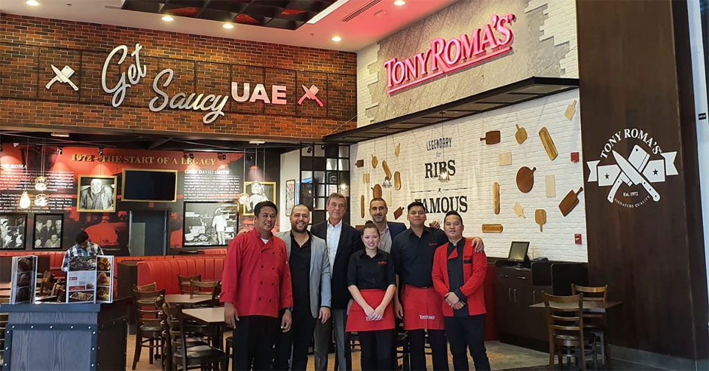 Tony Roma's Opens Its Sixth Restaurant in Dubai
