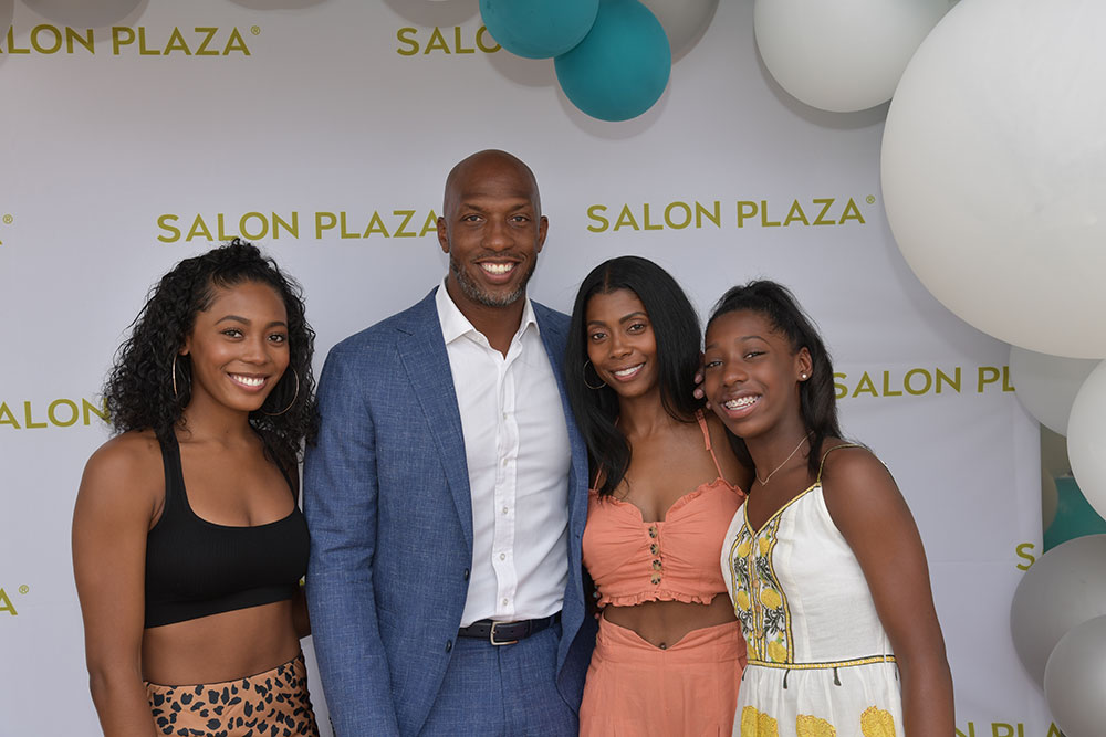 Chauncey Phillips and family