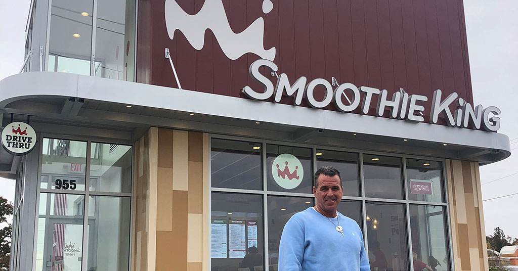 Healthy Appetite: John Clancy is into Smoothie King and Planet Fitness - in a big way!