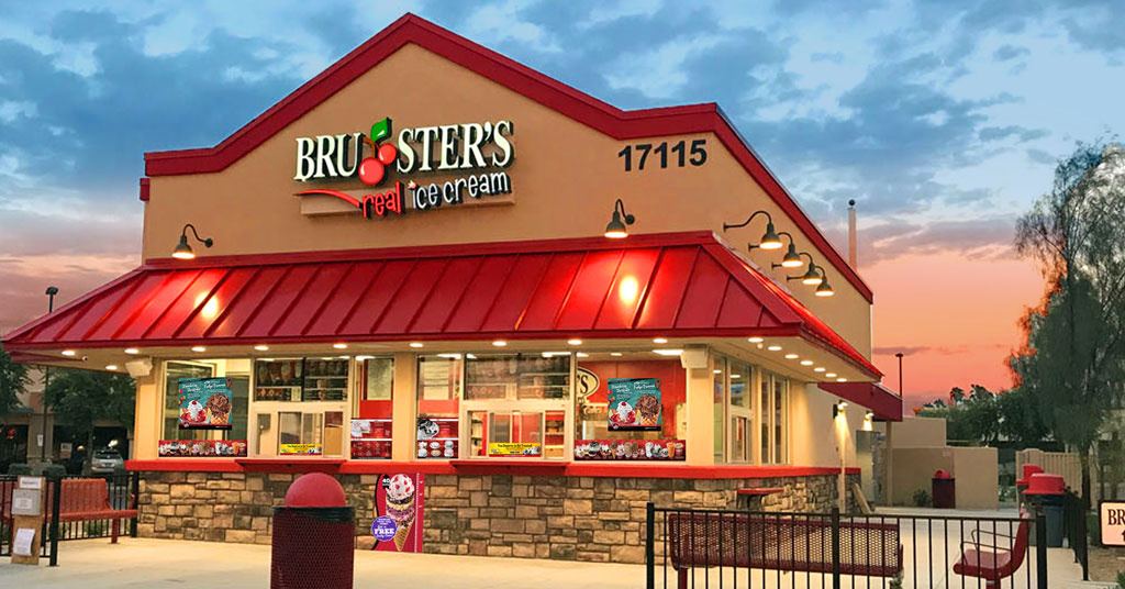 Bruster's Real Ice Cream Sets Growth Records And Donates Big to Feeding America