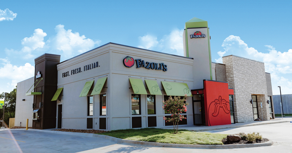 Fazoli's Heats Up Growth as Leading Franchise