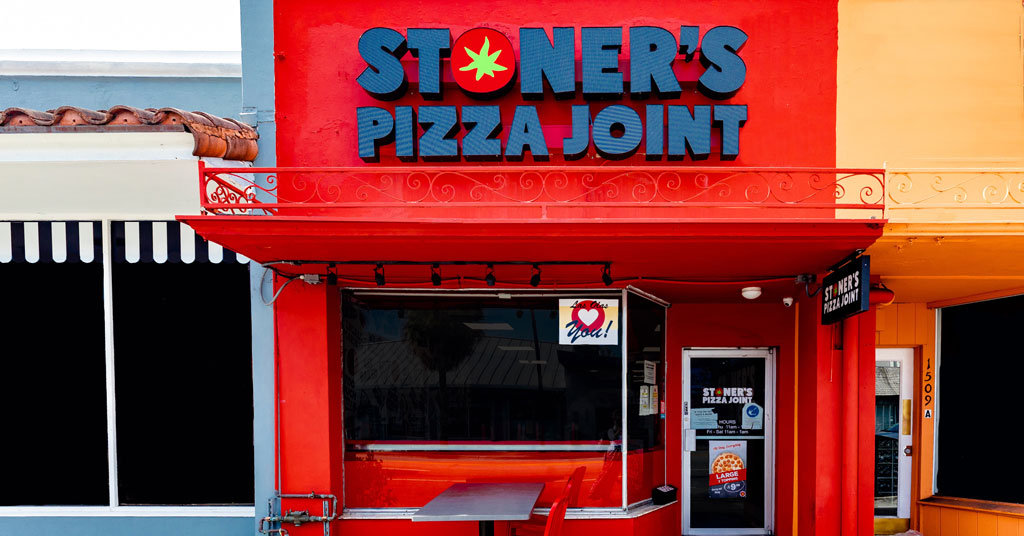 Delivery and Take-out Focused Stoner's Pizza Joint Takes Off