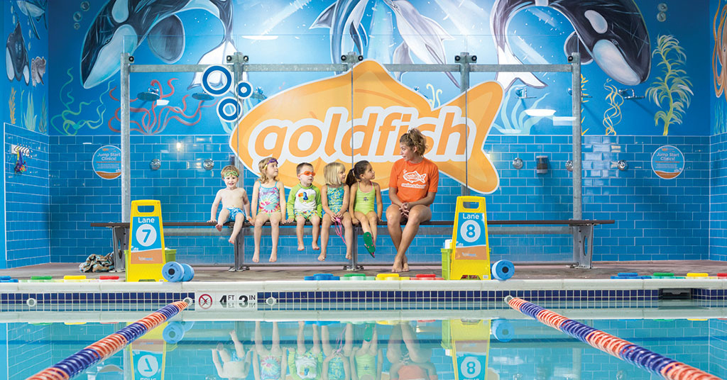 Goldfish Swim School Wins Franchise Update's 2020 Marketing Leadership Award