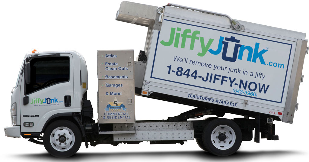 Jiffy Junk: On Demand Junk Removal Service