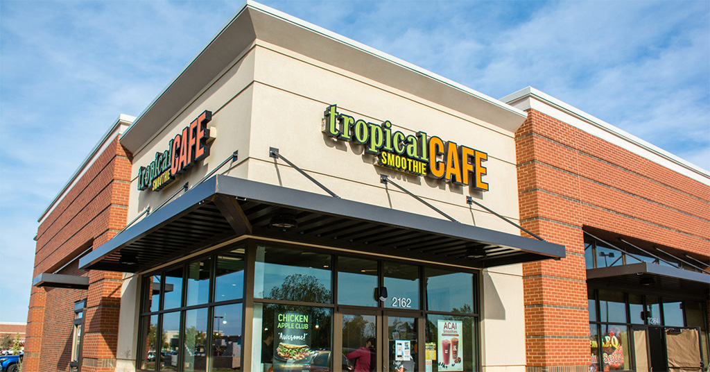 Multi-Unit Hardee's Operator Signs Development Agreement with Tropical Smoothie Cafe