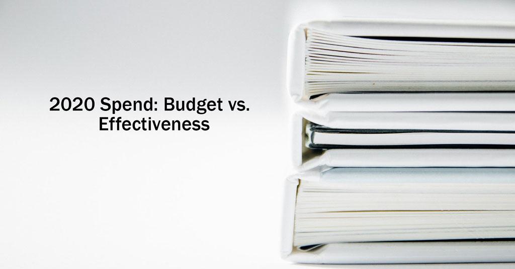 2021 Annual Franchise Development Report - 2020 Spend: Budgets vs. Effectiveness
