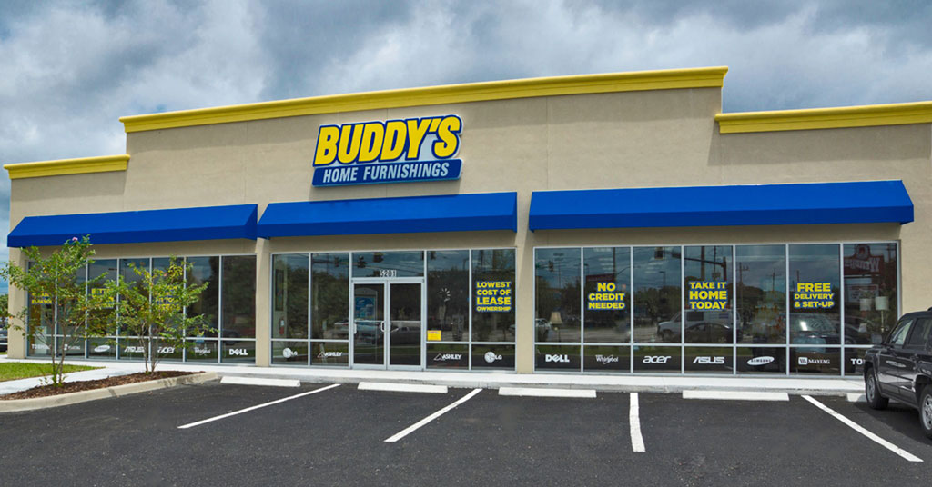 Buddy's Home Furnishings Franchise Footprint With Wilmington Store