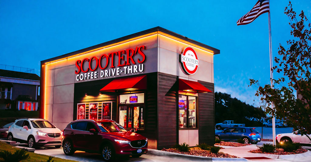 Coffee for Everyone! Drive-thrus lead to record sales for this Scooter's franchisee