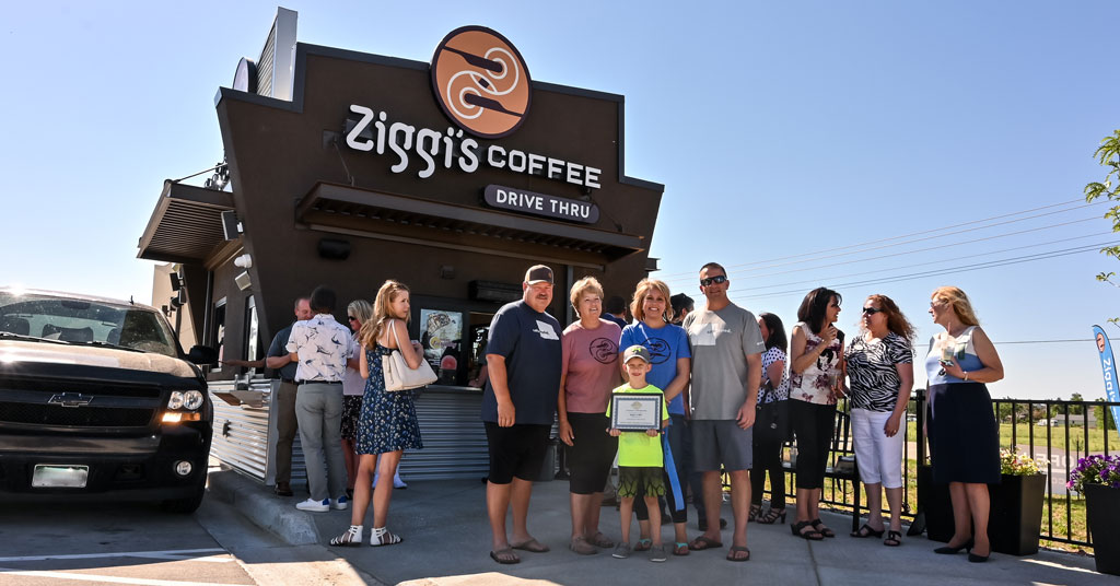 Support Within the Ziggi's Coffee Franchise - A Higher Level of 'Having Your Back'