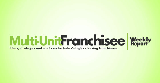 Multi-Unit Franchisee Report